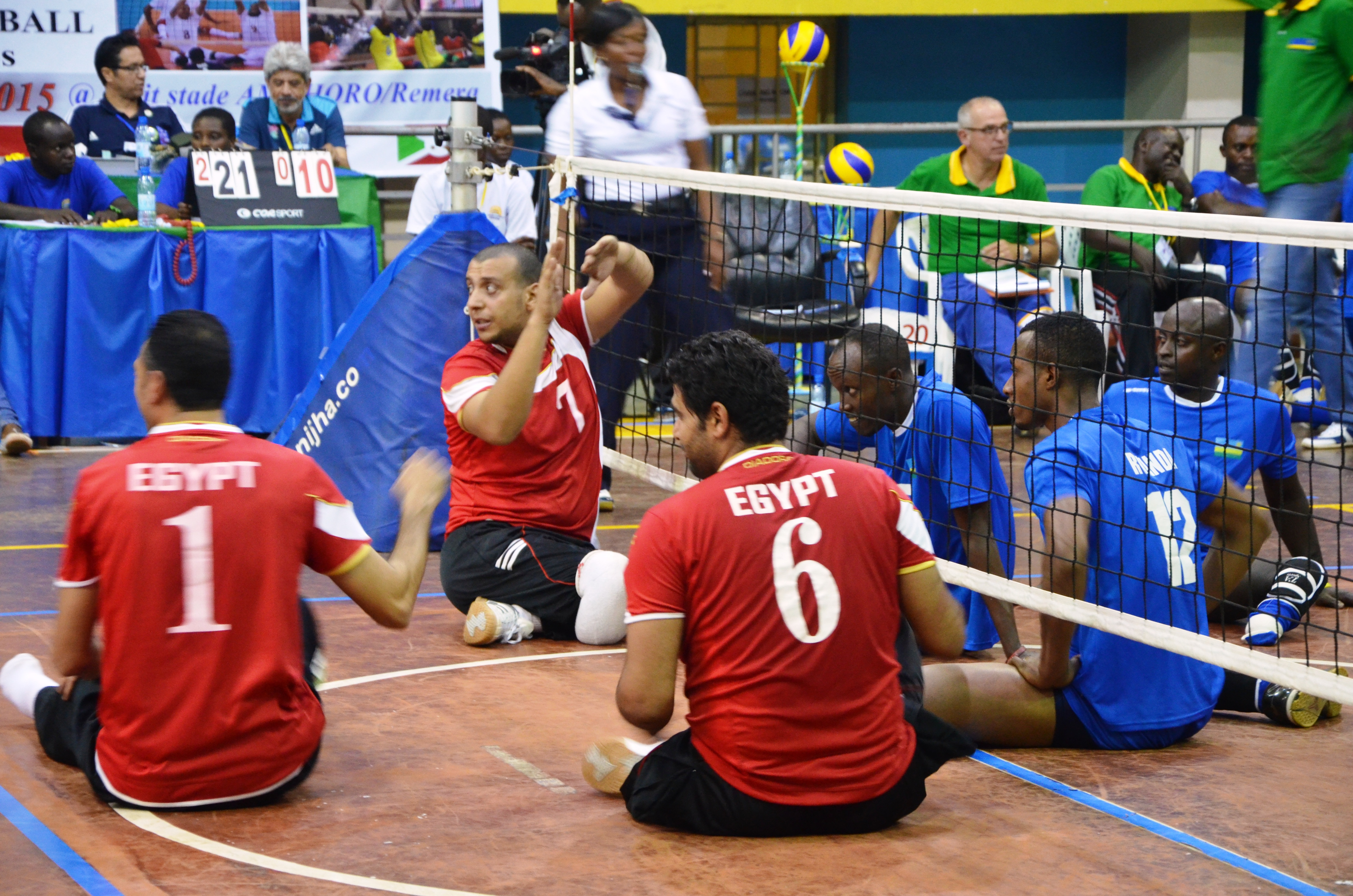 Rwanda Sitting Volleyball Championships Gets on its Second Phase