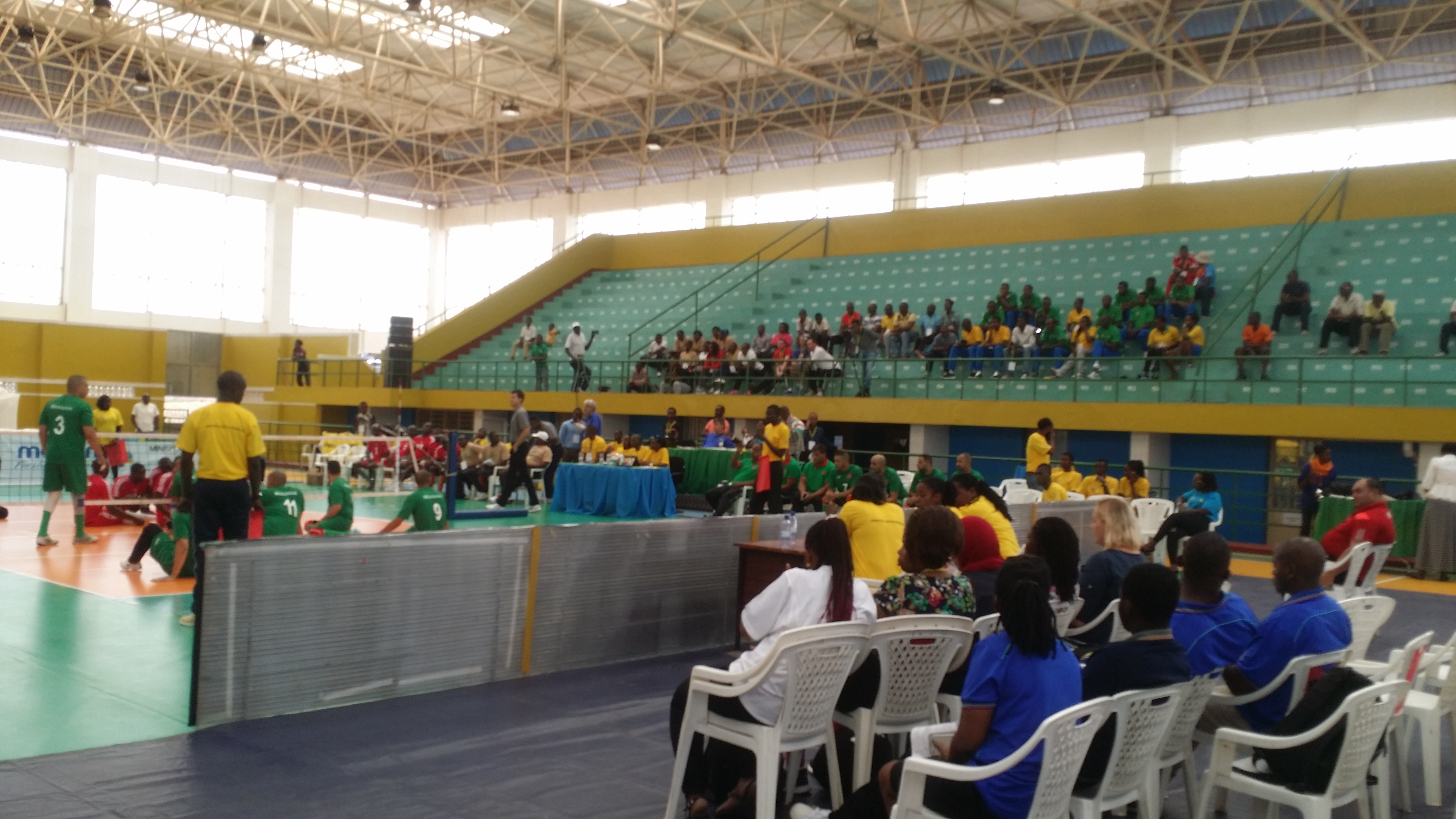 2017 Paravolley Africa  Sitting Volleyball Championships