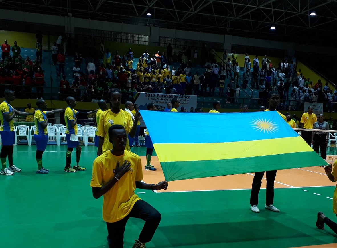 Opening Celemony of Paravolley Africa Sitting volleyball Championship 2017